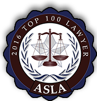 ASLA 2016 Top 100 Lawyers