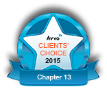 Avvo Client's Choice 2015 Chapter 13