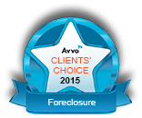 Avvo Client's Choice 2015 Foreclosure